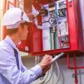 Instalação central de alarme incendio