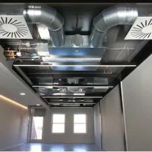Instalação de rede frigorígena